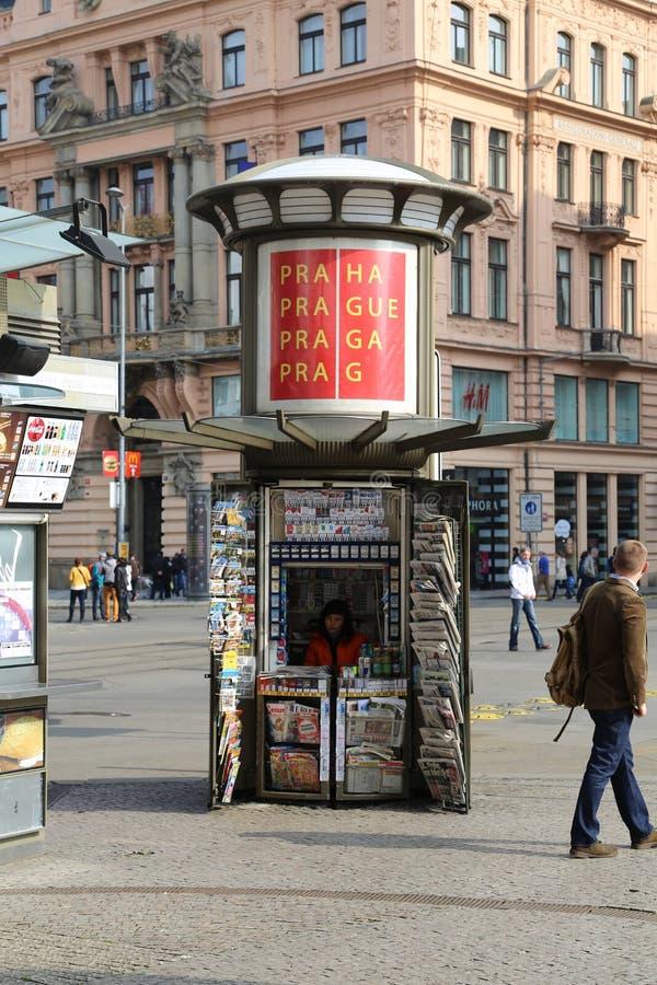 kiosque photographie stock libre de droits