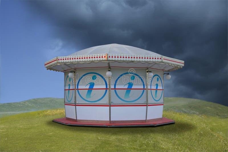 kiosque image stock