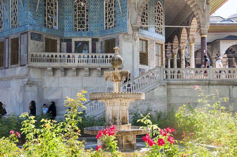 Kiosque de Bagdad dans le palais de Topkapi, Istanbul, Turquie photographie stock