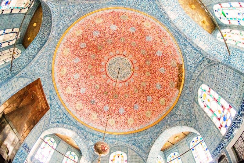 Kiosque de Bagdad de palais de Topkapi photographie stock libre de droits
