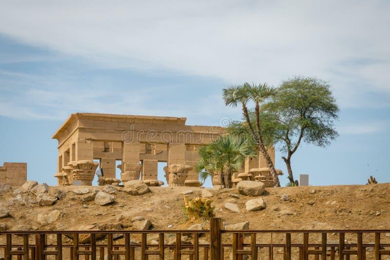 Kiosque de Trajan Temple de Philae photos stock