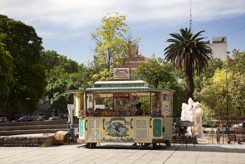 Kiosque en Mendoza photographie stock