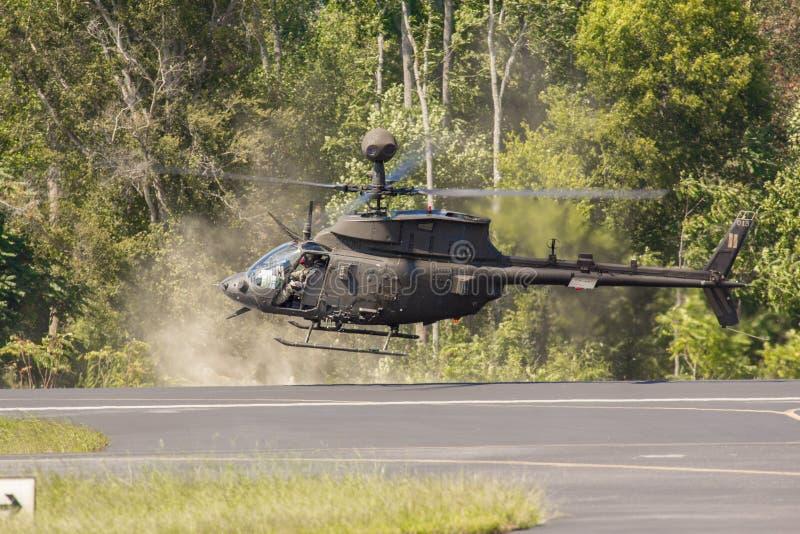 Kiowa Warrior Helicopter royaltyfria foton