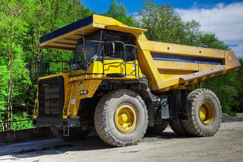 Kipp Truck imagem de stock