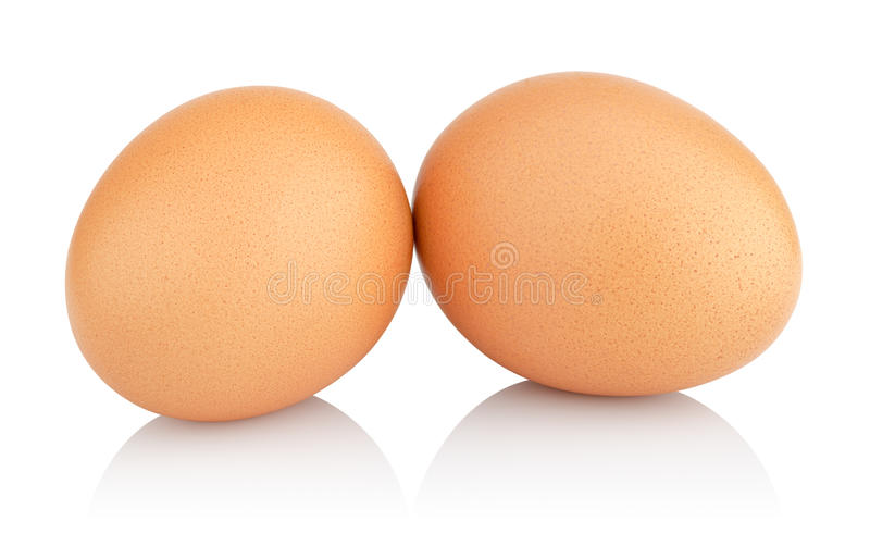 Kippeneieren stock afbeelding