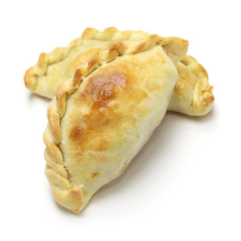 Kippenempanada, het voedsel van Argentinië royalty-vrije stock afbeeldingen