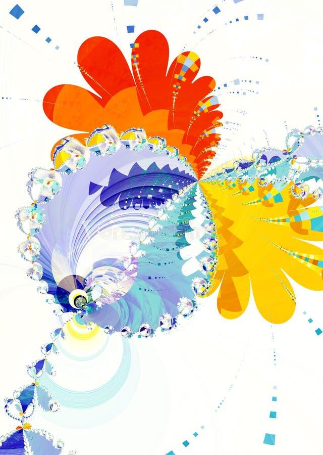 Kippensamenvatting vector illustratie