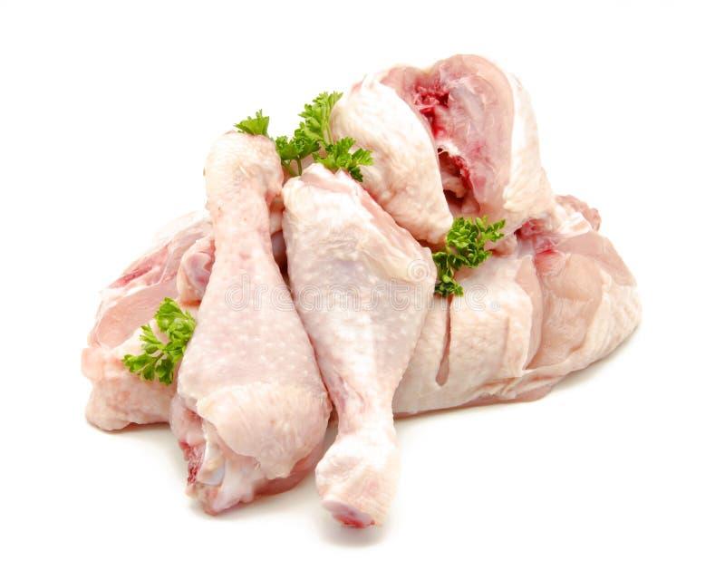 Kippenvlees stock foto