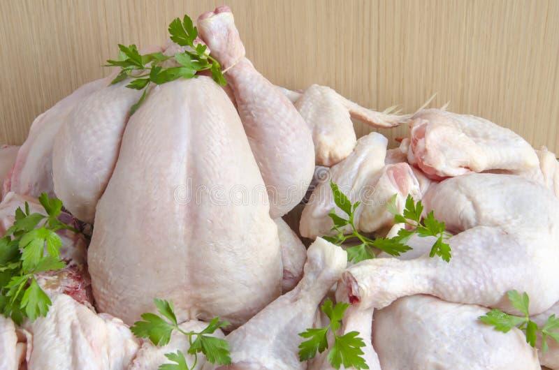 Kippenvlees royalty-vrije stock afbeelding