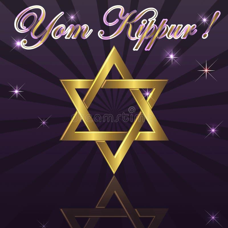 kippur yom ilustracji