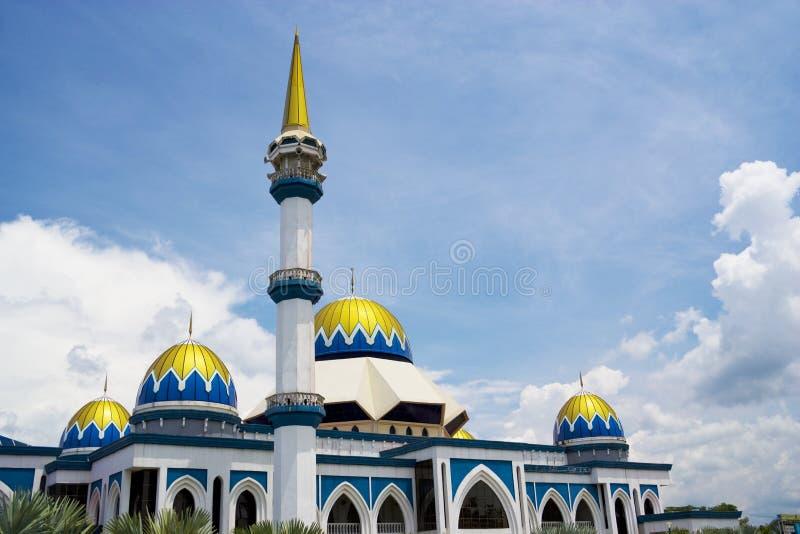 kipsas马来西亚清真寺 图库摄影
