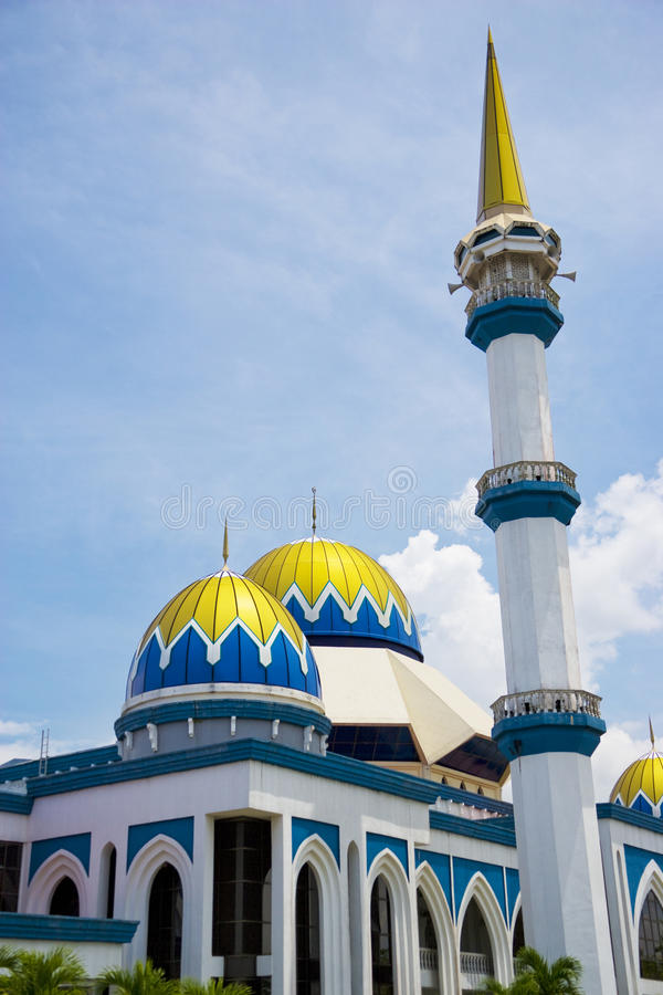 KIPSAS Mosque, Malaysia. Image of KIPSAS Mosque, located at Kuantan, Pahang, Malaysia stock photo