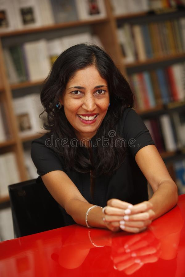 Kiran Desai fotografia de stock