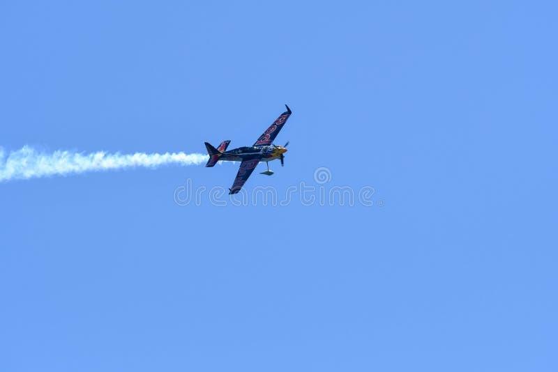 Kirby Chambliss США выполняет во время красного гоночного полета Bull стоковая фотография rf