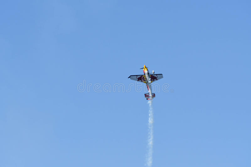 Kirby Chambliss of USA performs during Red Bull Air Race stock photos