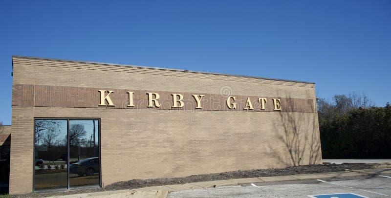 Kirby Gate Shopping Plaza, Memphis, TN imagem de stock