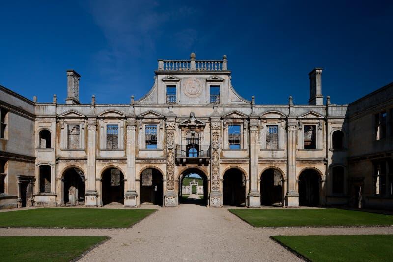 Kirby Hall Northamptonshire England stockfotografie