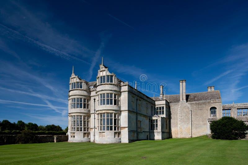 Kirby Hall Northamptonshire England stockfoto
