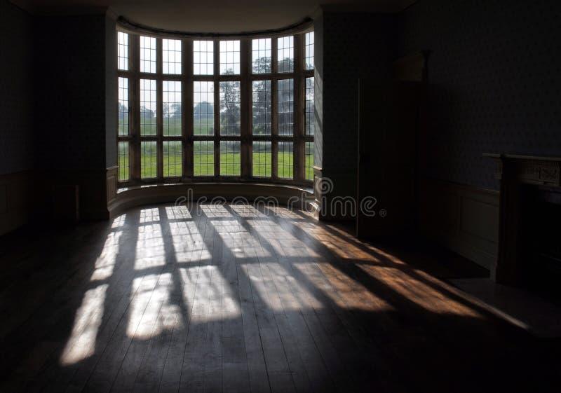 Kirby Hall, Northamptonshire, Großbritannien stockfotografie