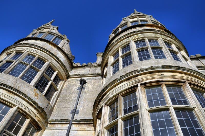 Kirby Hall, Northamptonshire, Reino Unido fotos de archivo