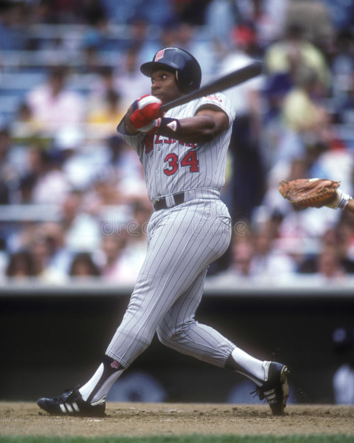 Kirby Puckett royalty free stock photography