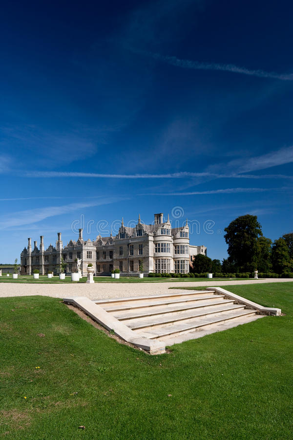 Kirby Salão Northamptonshire Inglaterra fotos de stock royalty free