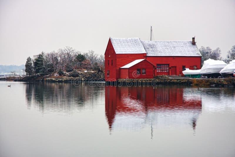 Kirby Teich im Winter stockfotos