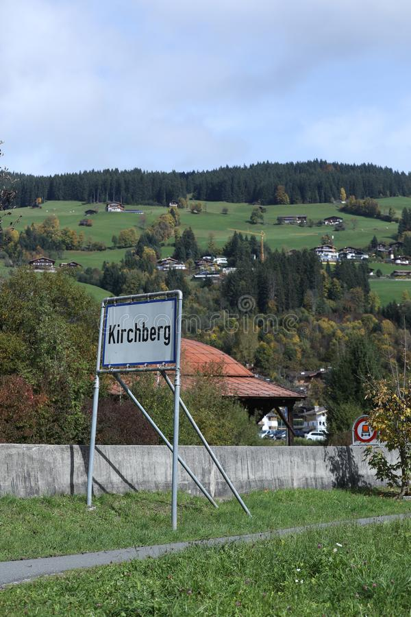 Kirchberg dans le Tirol, Autriche image stock