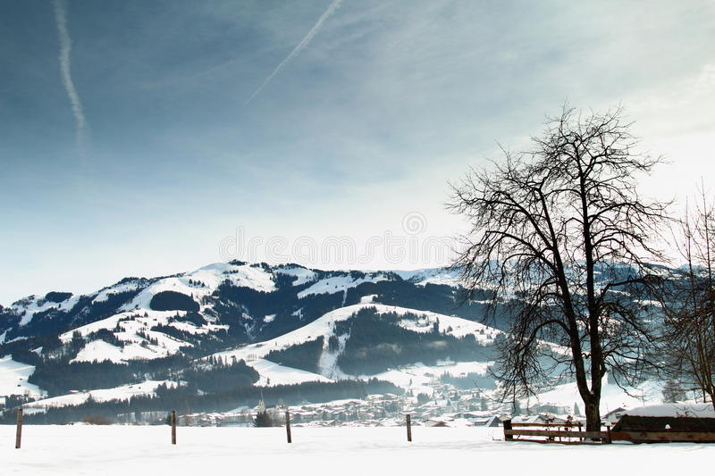 Kirchberg, Tirol in Austria royalty free stock image