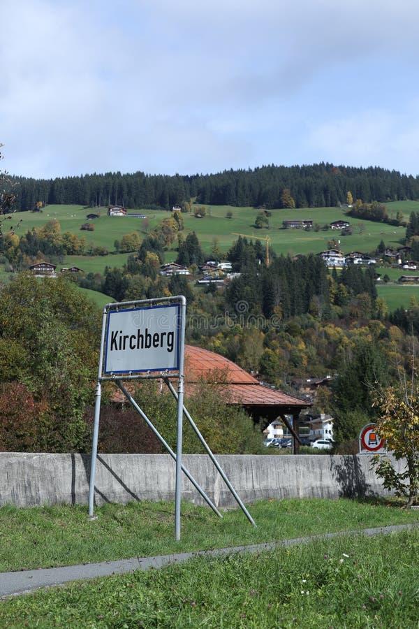 Kirchberg in Tirol, Austria stock image