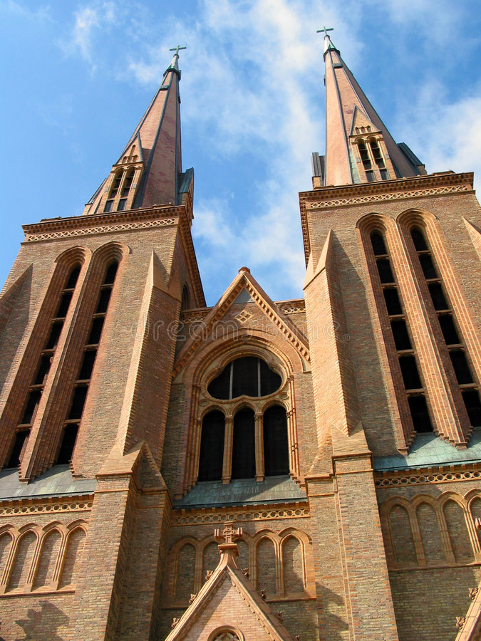 Kirche 1 stockbilder