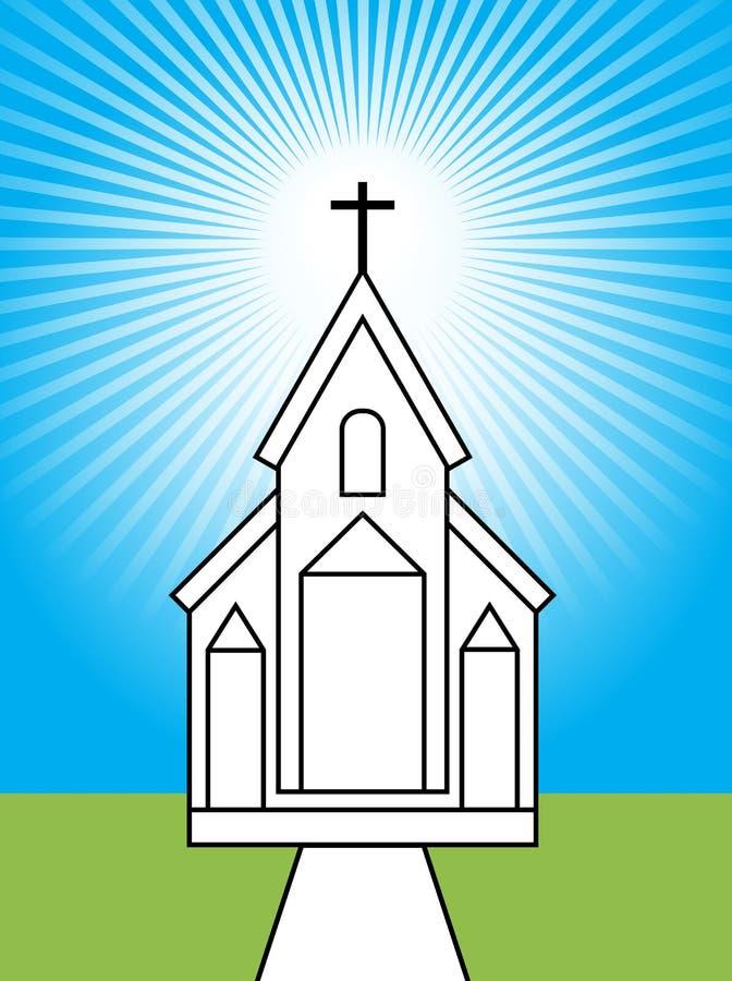 Kirche lizenzfreie abbildung