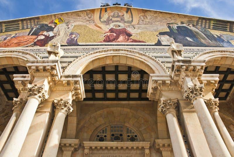 Kirche aller Nationen stockbild