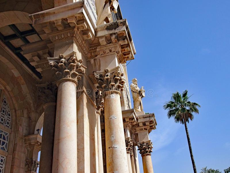 Kirche aller Nationen, Gethsemane, Jerusalem, Israel lizenzfreies stockbild