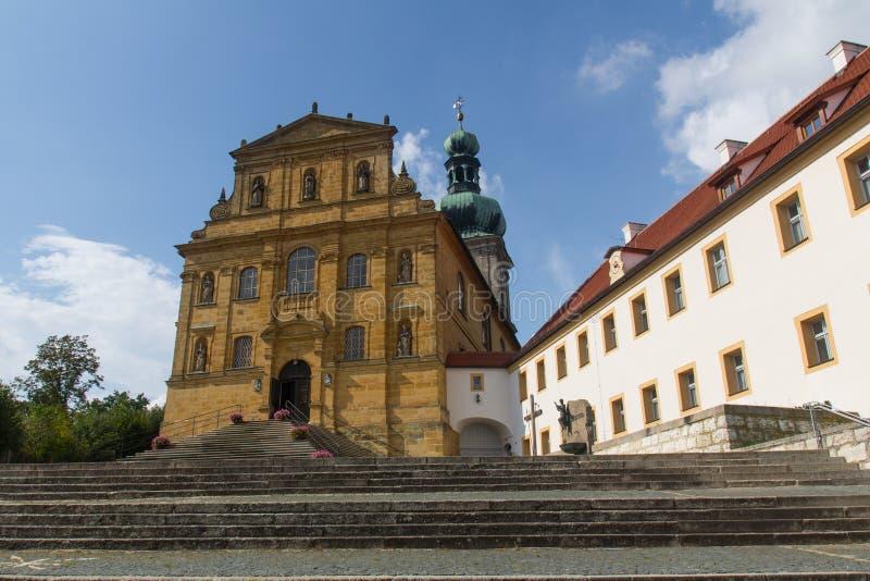 Kirche in Amberg stockfoto