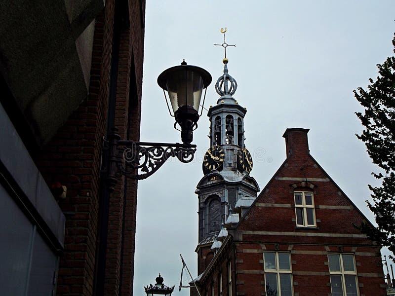 Kirche in Amsterdam stockbild