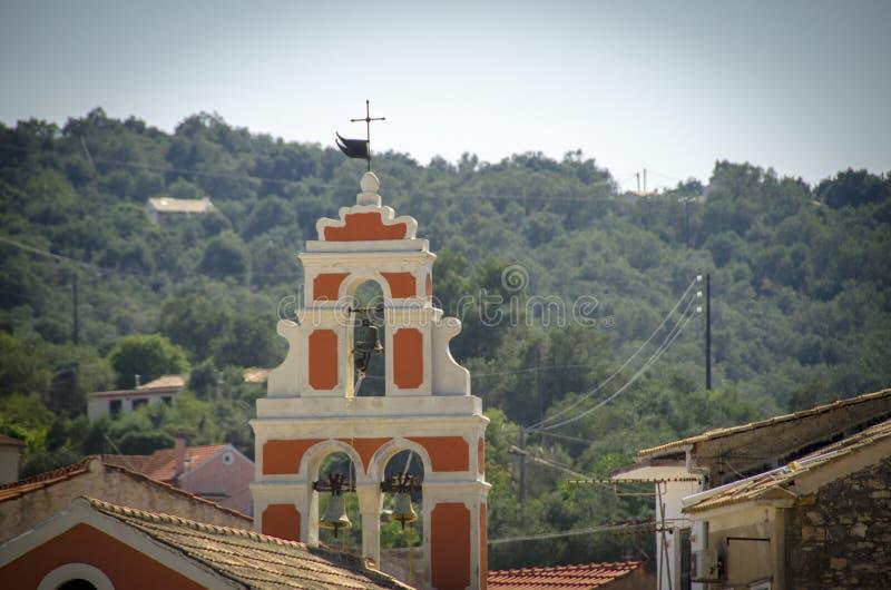 Kirche Analipsi - Gaios - Paxos-Insel - Griechenland lizenzfreie stockfotos