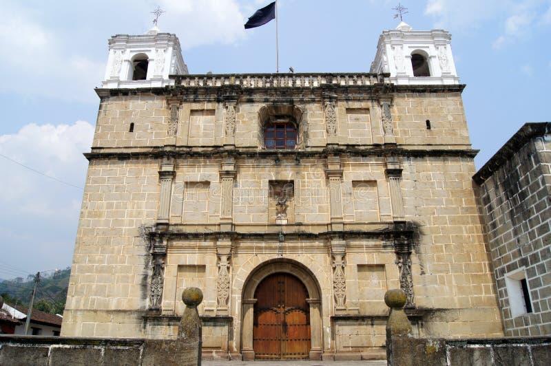 Kirche in Antigua stockfotografie
