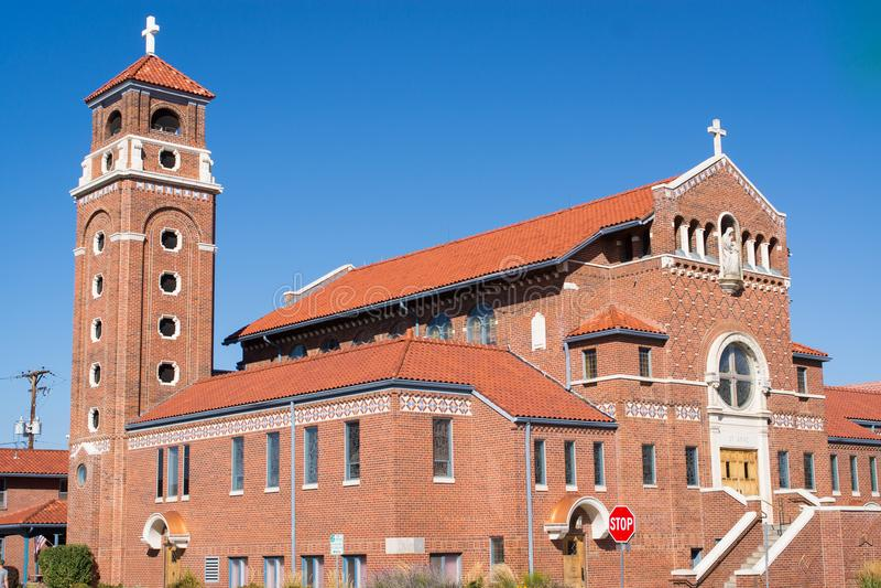 Kirche in Arvada, Colorado lizenzfreie stockfotos