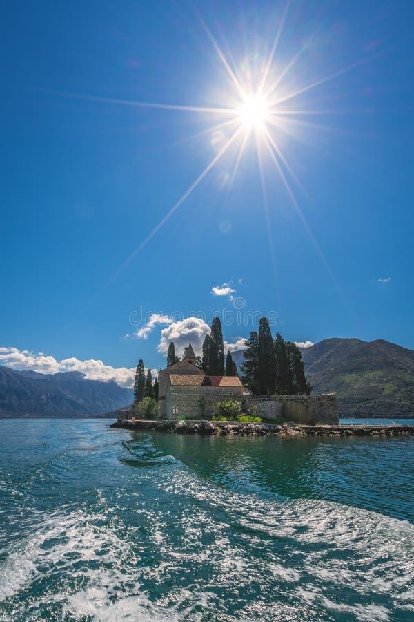 Kirche auf Insel Sans Georges lizenzfreie stockfotos