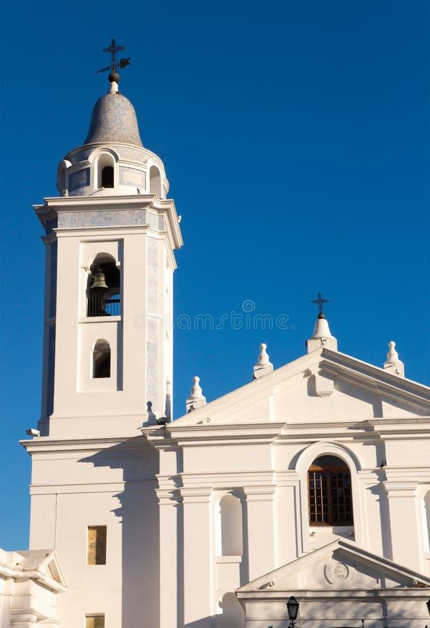 Kirche in Buenos Aires stockfotos