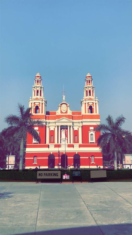 Kirche cannaught Platz Delhi stockfotografie