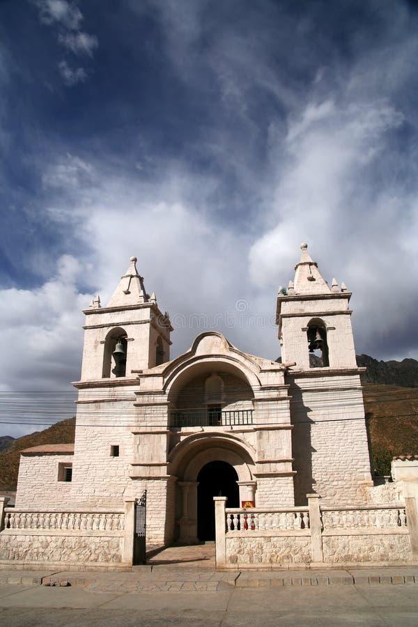 Kirche in Chivas stockfoto