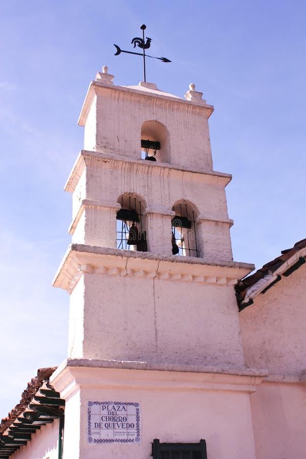 Kirche Chorro de Quevedo lizenzfreie stockfotos