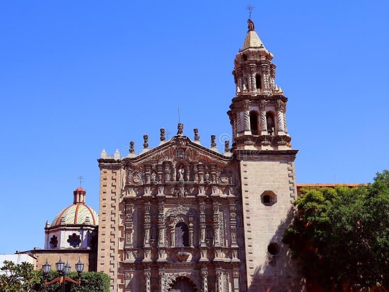 Kirche Del Carmen III stockfoto