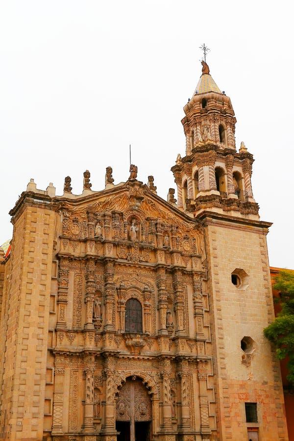 Kirche Del Carmen IV stockfotos