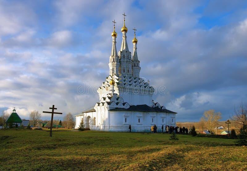 Kirche der Ikone der Jungfrau Hodegetria in Vyazma lizenzfreies stockfoto