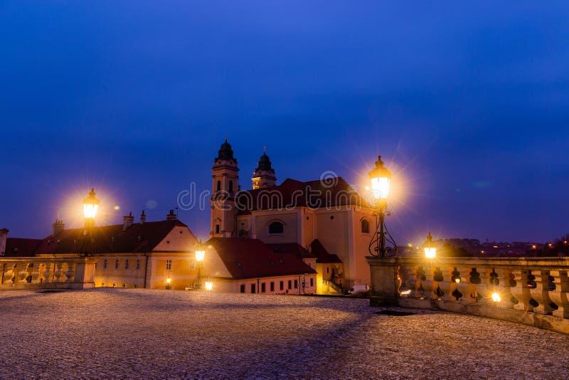 Kirche der Jungfrau Maria Valtice Region Südmähren, Tschechische Republik, Europa stockfoto