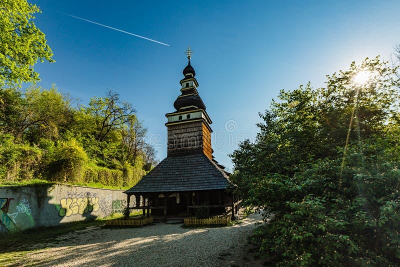 Kirche des Erzengels Michael errichtet im 18. Jahrhundert stockfotografie