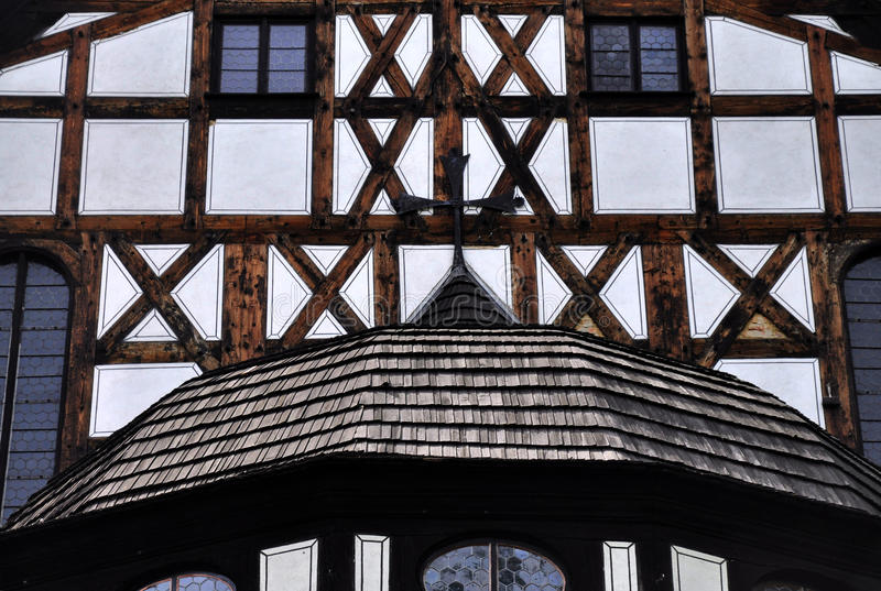 Kirche des Friedens - Swidnica lizenzfreies stockfoto